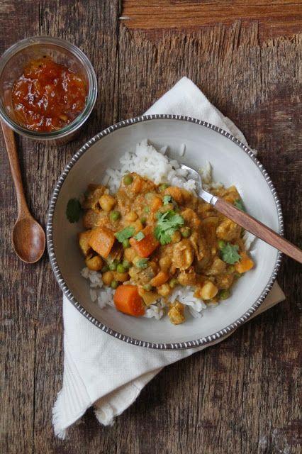 Mat På Bordet | En matblogg med oppskrifter fra morgen til kveld | Curry i Crock-Pot eller ikke