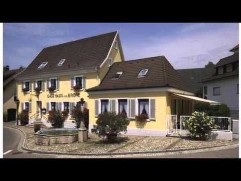 Gasthaus Zur Krone - Müllheim-Britzingen - Visit http://germanhotelstv.com/gasthaus-zur-krone This guesthouse is located in the heart of the Markgräflerland region close to the borders of France and Switzerland. -http://youtu.be/LYFzJtoTJAU