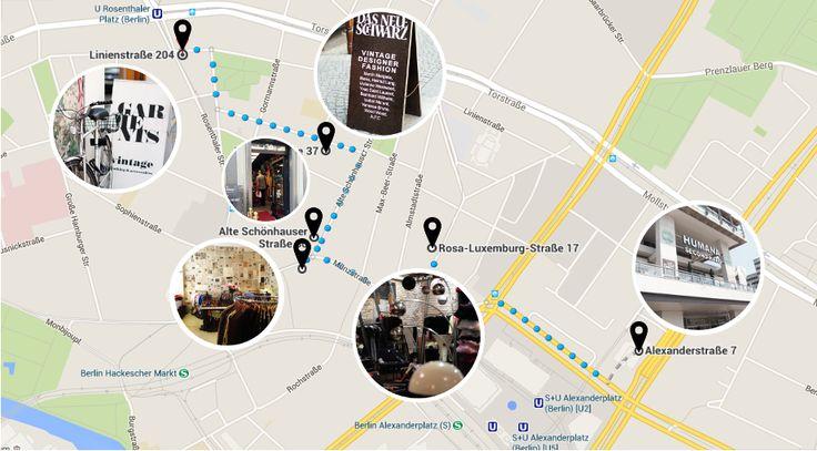 Jestem Kasia: Vintage shopping tour / Berlin