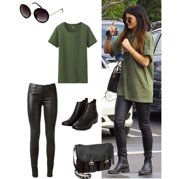 A fashion look from April 2014 featuring Uniqlo t-shirts, Yves Saint Laurent and Steve Madden messenger bags. Browse and shop related looks.