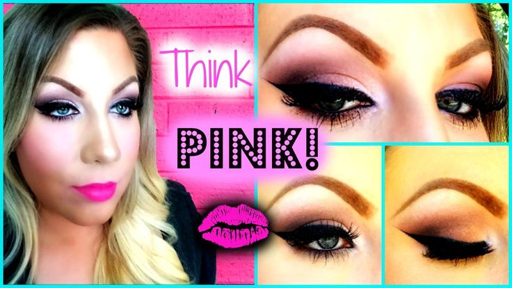 Think Pink! Hot Pink Lips and Soft Smokey Eyes with Lorac Pro! #softpinklips