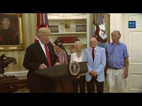 President Trump Honors Survivors of U.S.S. Arizona and Heroes of Pearl Harbor…   The Last Refuge