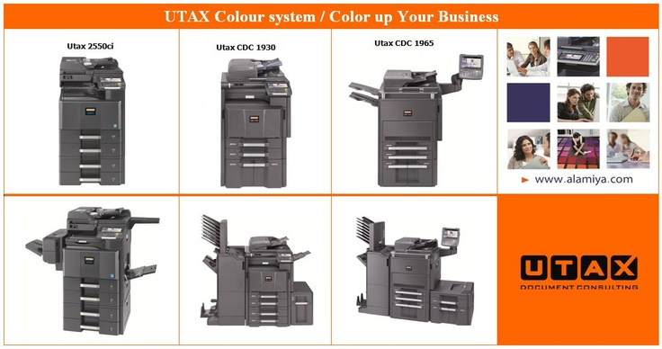 UTAX Color Machines 2013