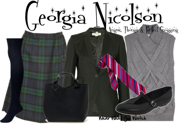 Inspired by Georgia Groome as Georgia Nicolson in the 2008 British film Angue, Thongs and Perfect Snogging.: Georgia Grooms, Thong, Posts, High Fashion, Wear, Watches, Film Angu, Georgia Nicolson