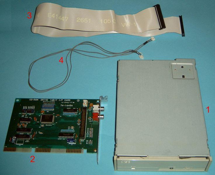 mitsumi crmc-lu005s - moje první CD mechanika - jednorychlostní