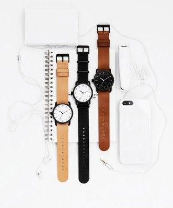 シンプルがかっこいい。TIDWatchs。革ベルトの腕時計 ブランド