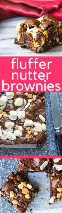 Fluffer Nutter Brownies