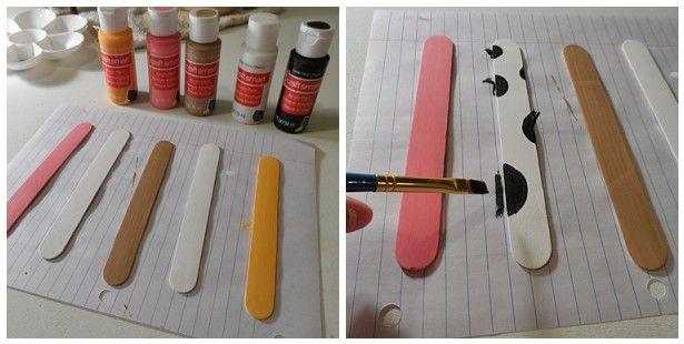 Vai começar as aulas da criançada!!! E atenção mamãe!! Veja o que você mesmo pode fazer para seus filhos!! Lindos marcadores de páginas da ...