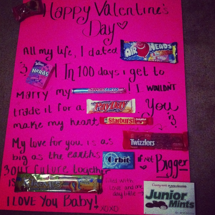 21 best images about Candy card – Valentines Card to Boyfriend