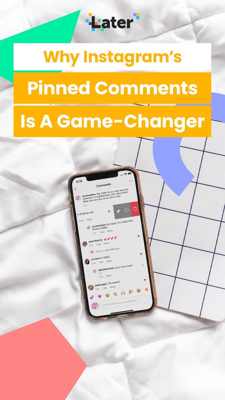 Instagram Gives All Users The Option To Pin Post Comments In 2020 Instagram Update Instagram Photo Sharing App