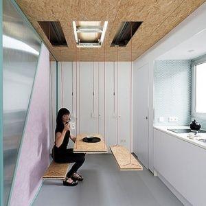 スペインマドリードの片隅で、私たちが予想だにしないような限られた空間をステキな方法で活用している女性がいます。 ...