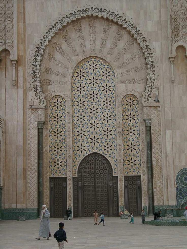 The Hassan II mosque, Casablanca, Marocco