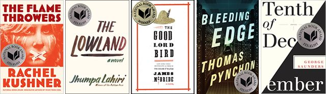 2013 National Book Award Fiction Finalists