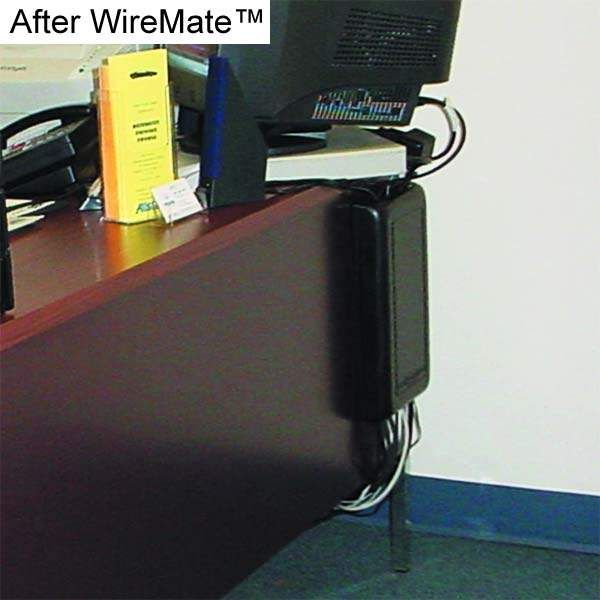 WireMate Cord Organizer behind desk application image - icon