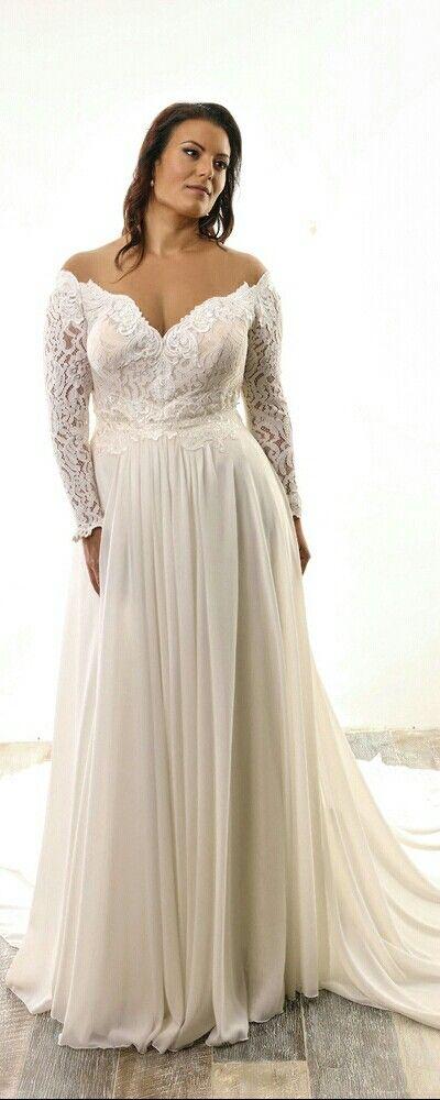 81 best Plus Size A-Linie & Empire Silhouette - Dein XL Brautkleid ...