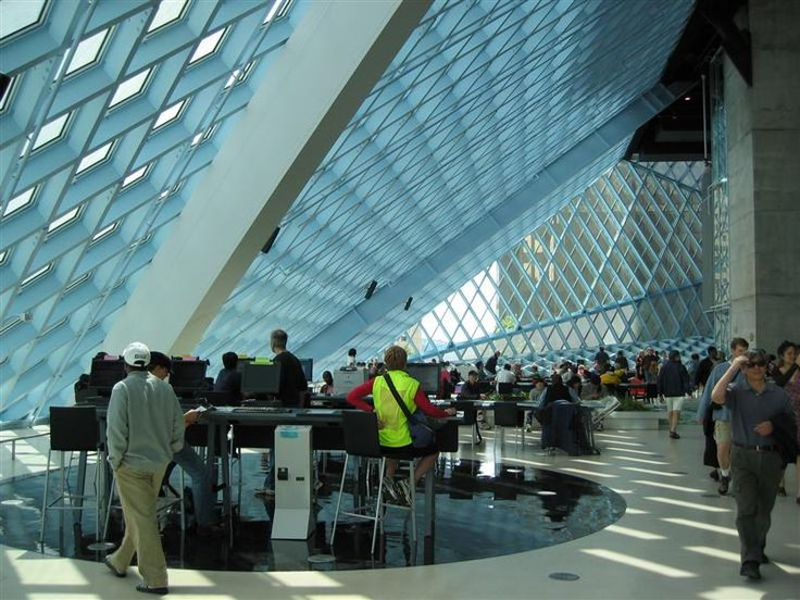 Seattle Central Library Interior