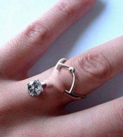 Pierced Wedding Ring
