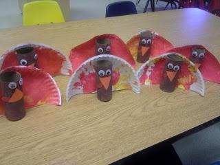 TP Roll & Paper Plate Turkeys!