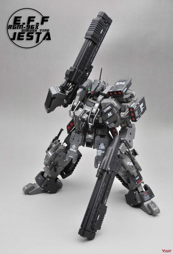 "Custom Build: MG 1/100 Jesta ""ONRUSH TYPE"" - Gundam Kits Collection News and Reviews"