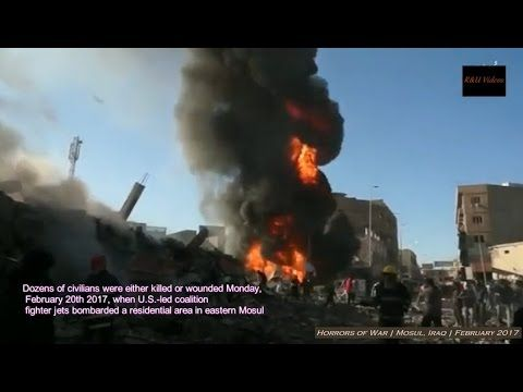 Guerra contra o ISIS no Iraque - Os horrores da guerra +18 - Fevereiro d...