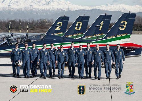 Frecce tricolori PAN Pattuglia Acrobatica Nazionale 2013