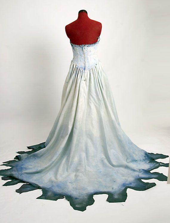 Corpse Bride Costume Based on Tim Burton movie por Deconstructress