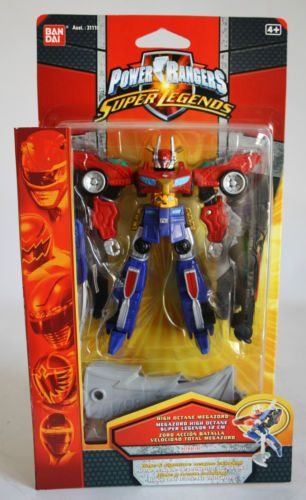 RARE Power Rangers Super Legends High Octane Megazord Zord Bandai New MISB | eBay