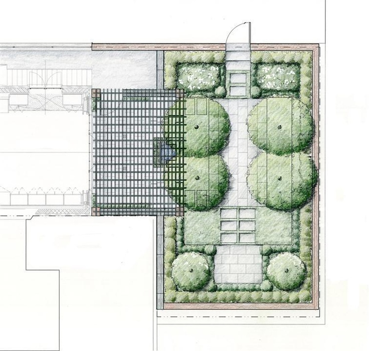 27 best images about garden drawings on pinterest for Landscape architect drawing