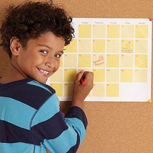 10 Ways Moms Can Balance Work and Family: Create and Organize a Family Calendar (via Parents.com)
