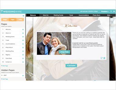 wedding websites for free
