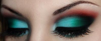 Mooie kleuren oogschaduw!