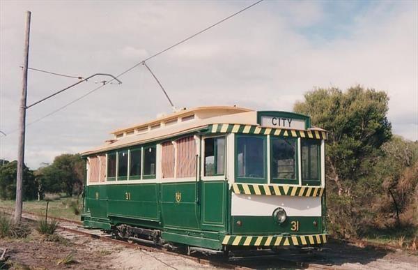 Ballarat 31 at the Perth Electric Tramway Museum