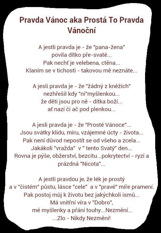 THE TRUTH ABOUT XMAS - PRAVDA VÁNOČNÍ by Kaczeka Osh