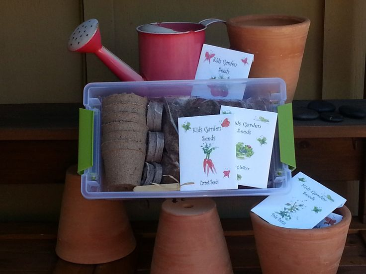 Gardening Kit for Kids, organic seeds, gardening, childrens garden toy, garden tools garden kit for kids seed starting kit outdoor play seed by TheGiftedTomato on Etsy https://www.etsy.com/listing/118712140/gardening-kit-for-kids-organic-seeds