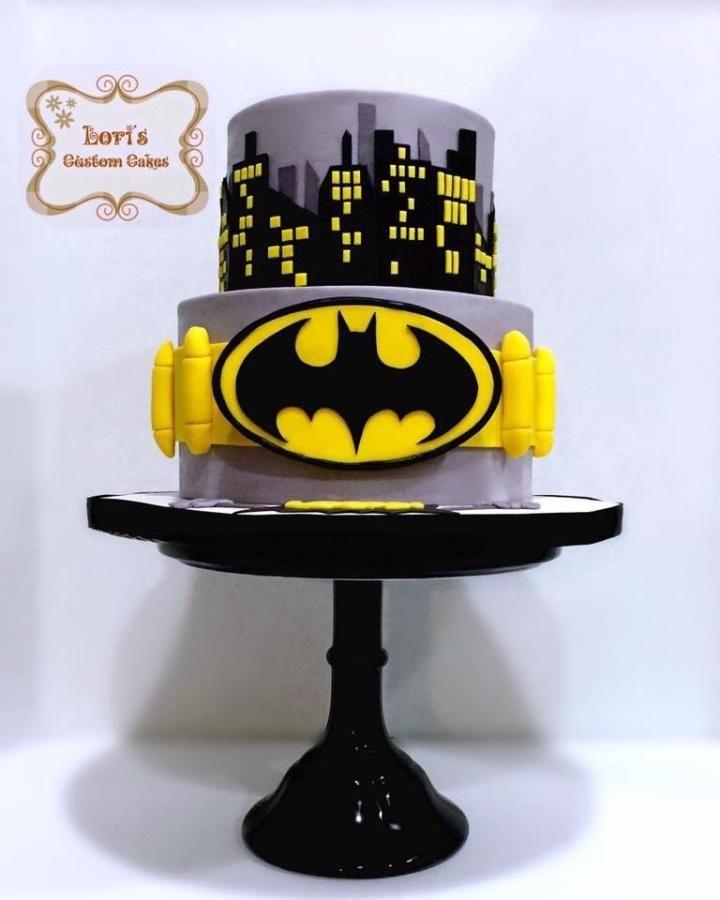 Batman by Lori Mahoney