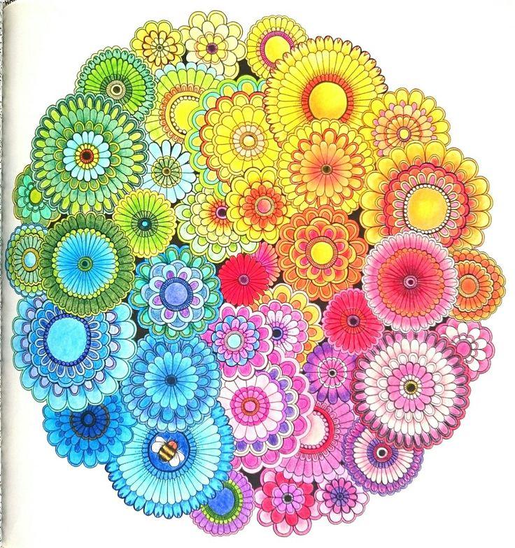 Johanna Basford | Secret garden | colored with koh-i-noor mondeluz and giotto stilnovo
