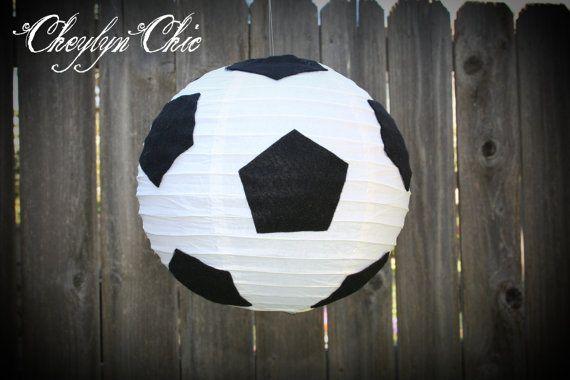 Soccer Ball Paper Lantern