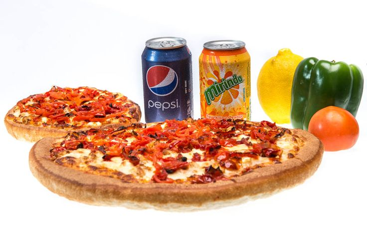 Get 2 large pizza's for the price of one. Roman's Pizza - 014 537 2666