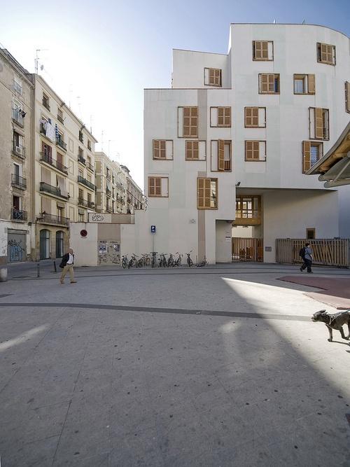 Santa Caterina Market Housing by Enric Miralles