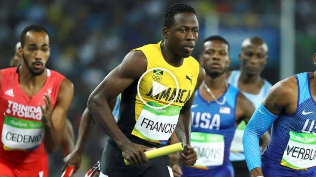 Jamaica Wins Silver : Men's 4x400m Relay at Rio Olympics