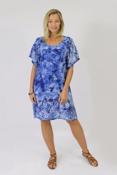 Jendi - 12-382 Tie-Dye Dress