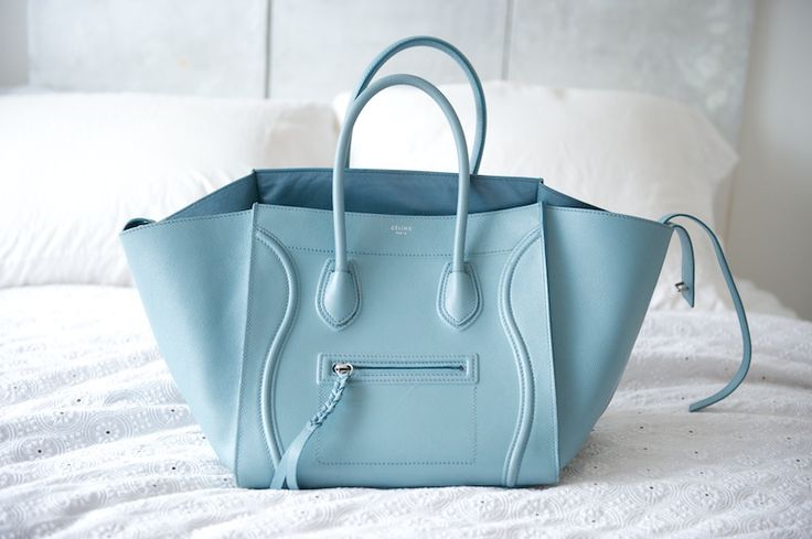 baby blue #bag :: Phantom by #Celine | love to carry | Pinterest ...