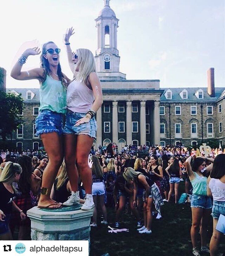 What Exactly Happens During Sorority Recruitment At Penn State University - Society19