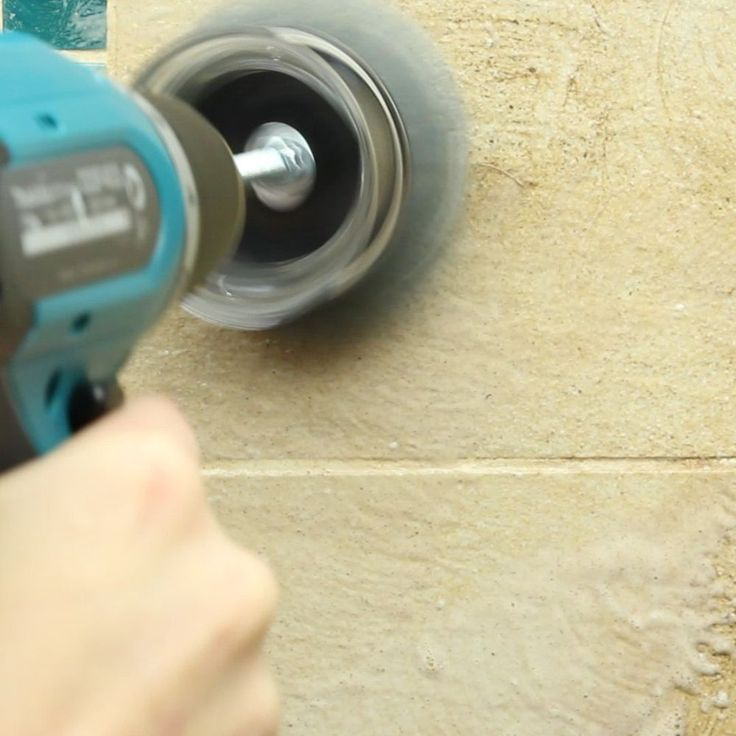 It sounds a little wild, but you can let your power drill do the cleaning for you with this quick DIY