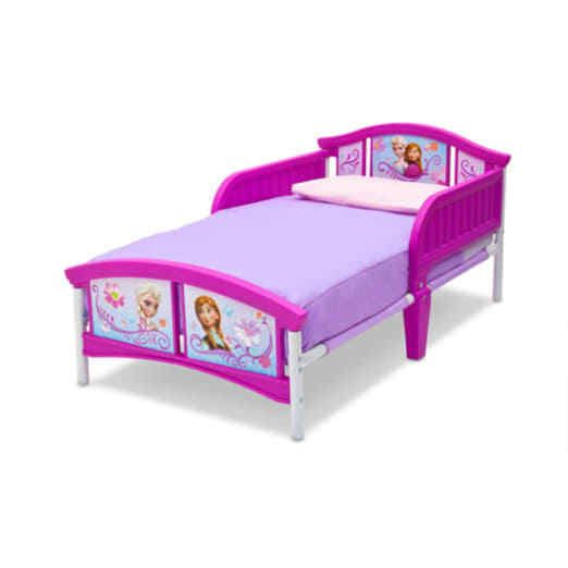 Delta Children DISNEY TODDLER BED, Plastic Sturdy Steel Frame FROZEN KIDS BED [[CONTENT]]. | eBay!