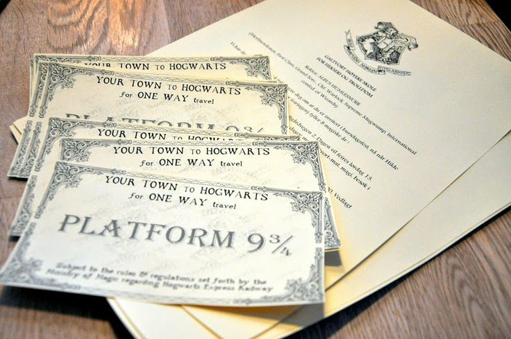 Just Elise: Invitations Harry Potter Birthday Party