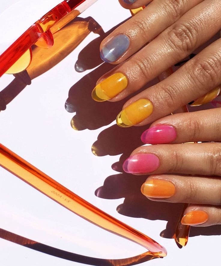 """""""Jelly Nails"""" Are Trending On Instagram — & They're Perfect For Summer"""