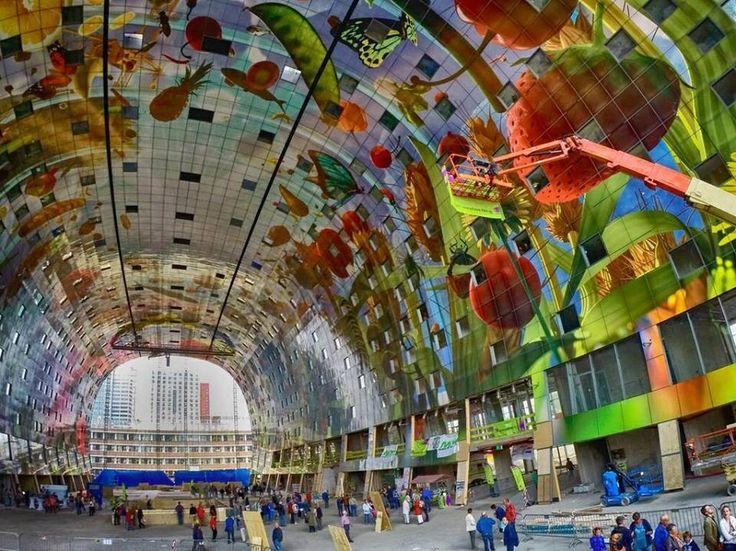 Markthal Rotterdam Holland