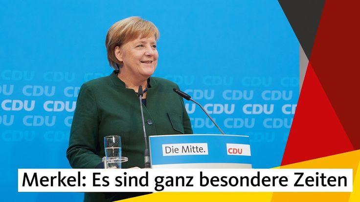 #Angela #Merkel   #Es #sind #ganz #besondere #Zeiten    #CDU   #Die #CDU #ist offen #fuer #Gespraeche #mit #der #SPD. #Die #Union #wolle Stabilitaet #in #unserem #Land #schaffen #und #sei #bereit, #Verantwortung #zu uebernehmen. #Das betonte #die CDU-Vorsitzende, #Bundeskanzlerin #Angela #Merkel #am 27. #November gegenueber #der Hauptstadtpresse #im Konrad-Adenauer-Haus #in #Berlin.   http://saar.city/?p=78927