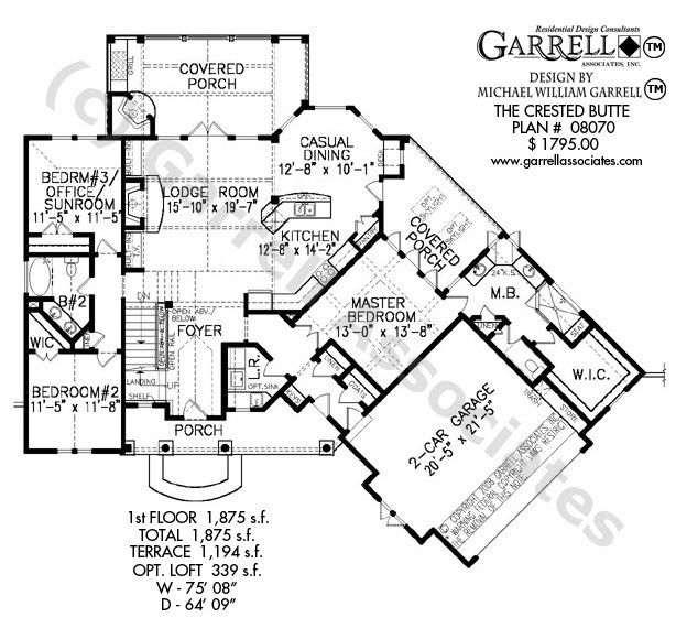 Mountain Craftsman House Plans: Best 25+ Craftsman Style House Plans Ideas On Pinterest